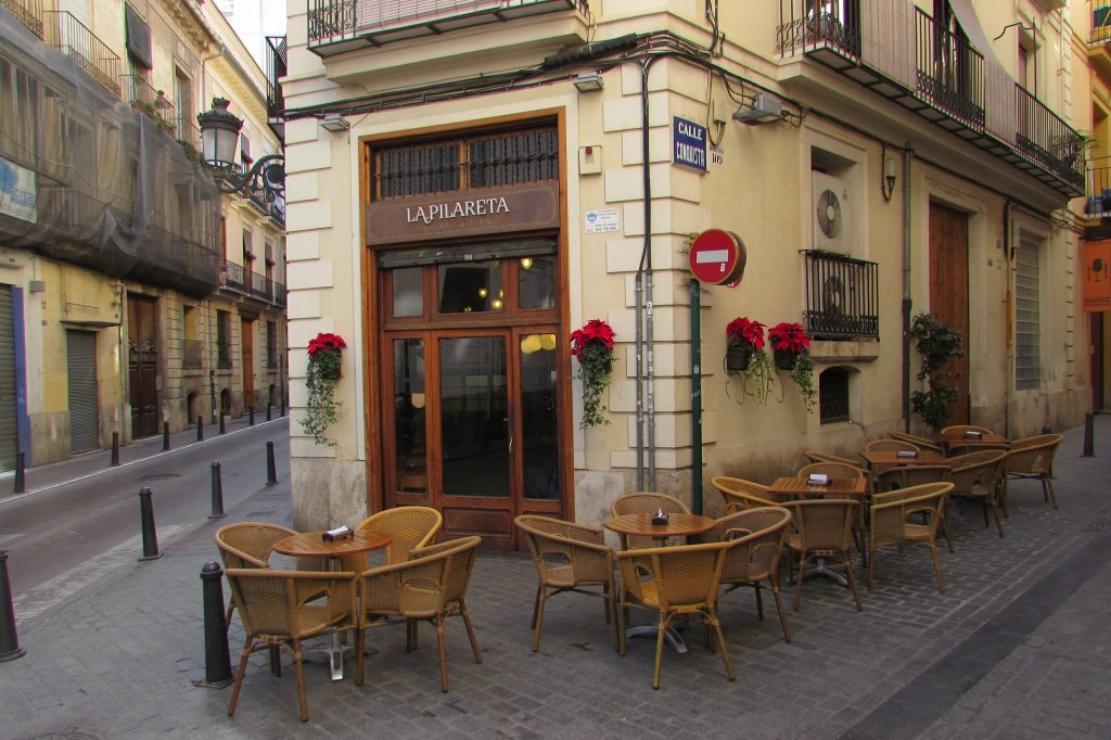La Pilareta tapas bar in Valencia old town