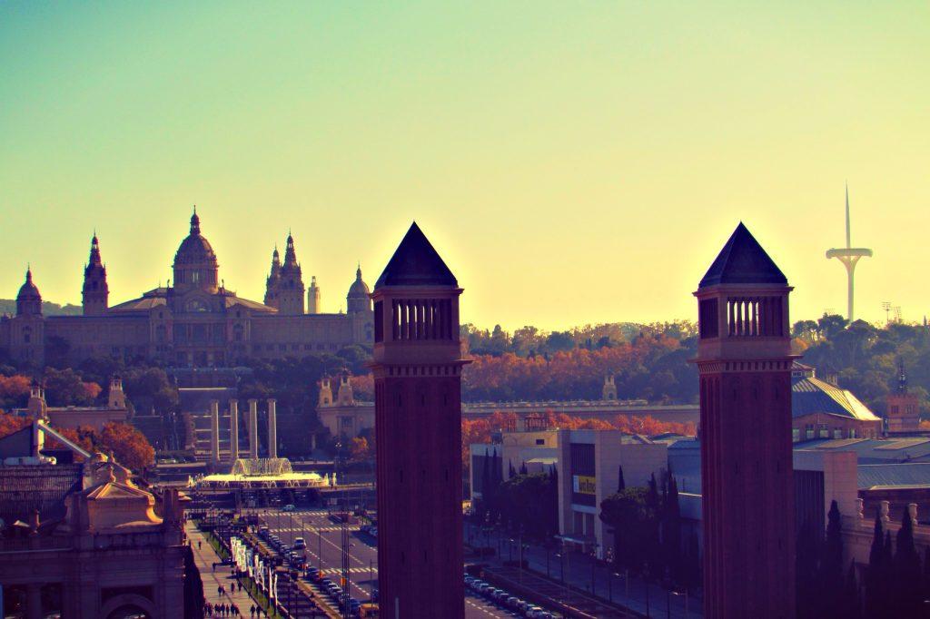MNAC Views las-arenas-shopping-mall-barcelona