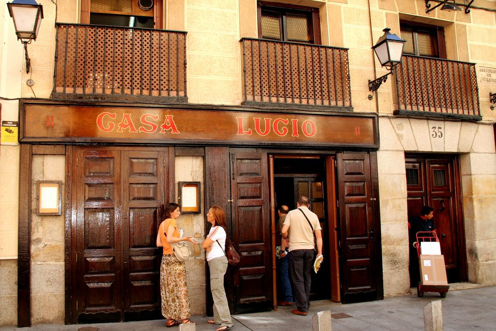 Casa Lucio Restaurant in Madrid