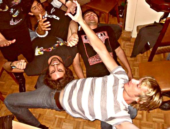 Intercambio party in Barcelona