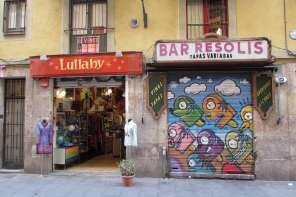 Lullaby Vintage Boutique in Raval Barcelona (1)