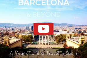 BARCELONA, Spain Travel Video ~ A Year of Life and Travel in Spain - Ben Holbrook of Driftwood Journals