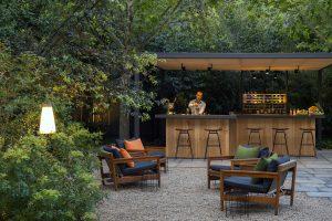 Hotel Alma Interior Garden Bar and Cafe
