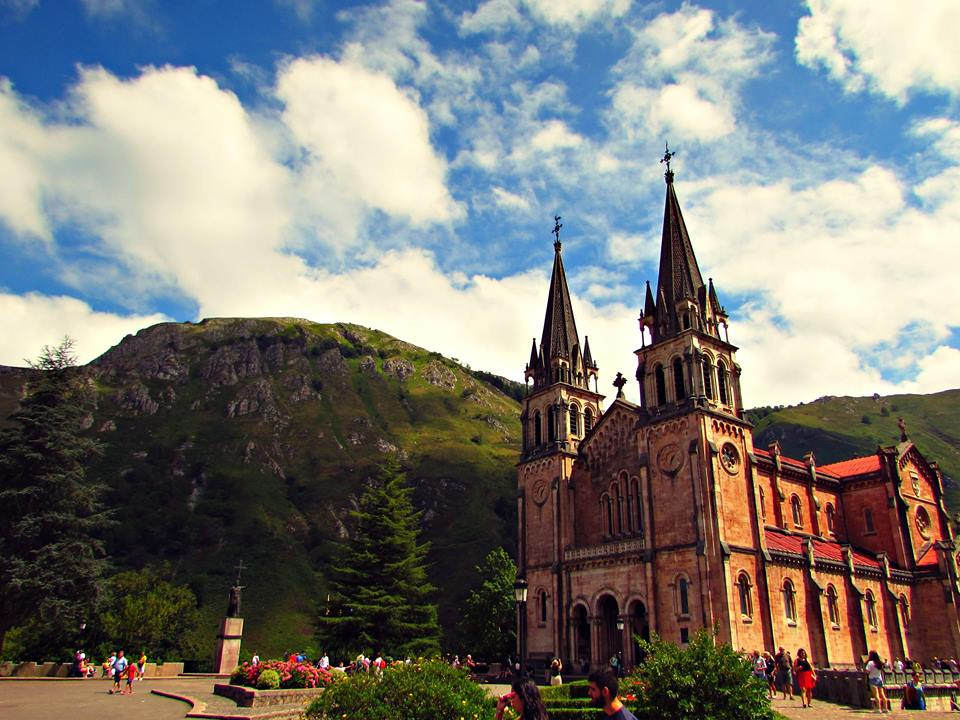 Our Lady Covadonga Church, Asturias, Northern Spain
