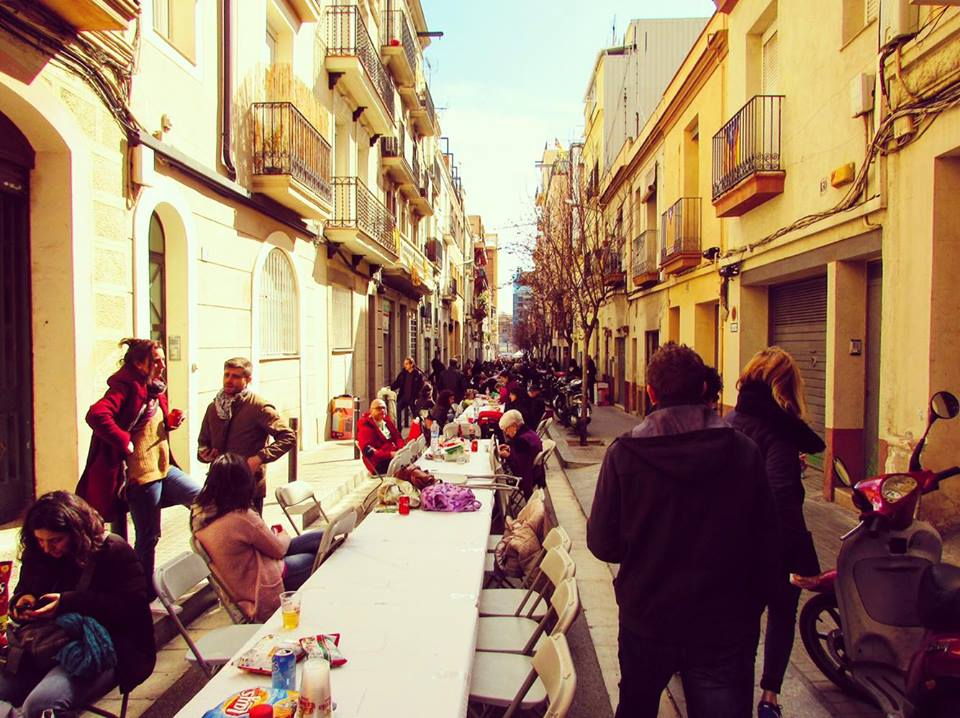 Street food party in Barcelona - Cacotada : Calcots