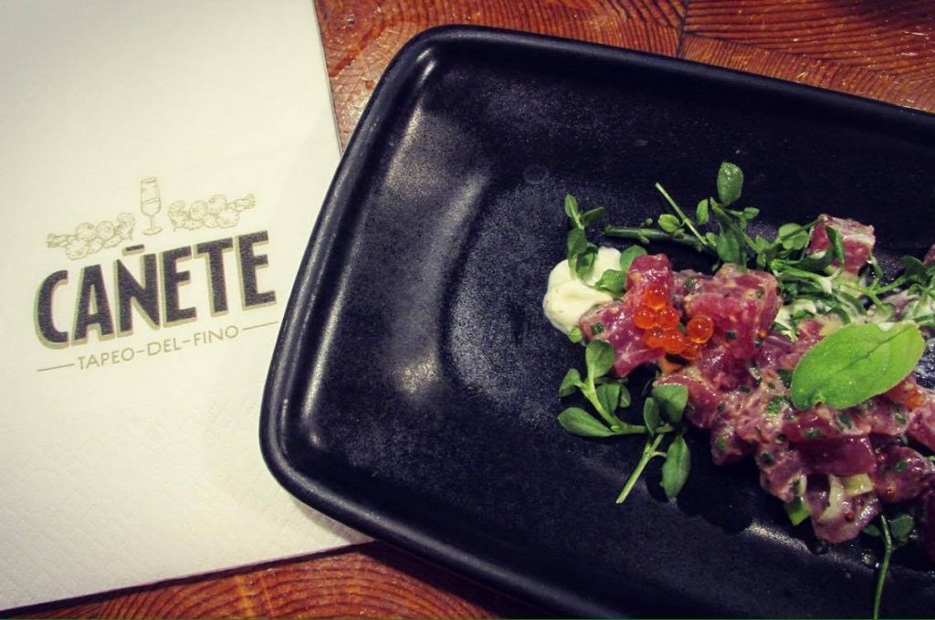 Bar Canete Tuna Tartare