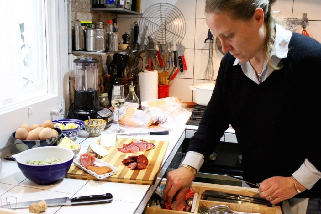 Chef Sarah Stothart Barcelona Food Sherpa Home Dining Experience