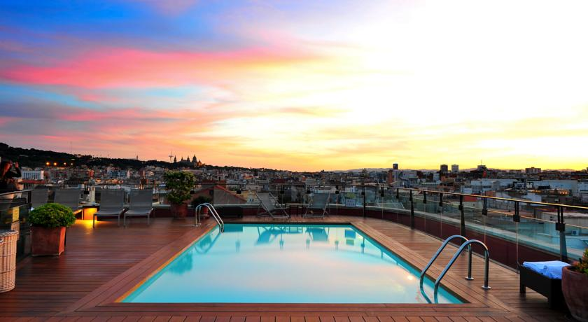 Hotel 1898 barcelona rooftop pool driftwood journals for Appart hotel montpellier avec piscine