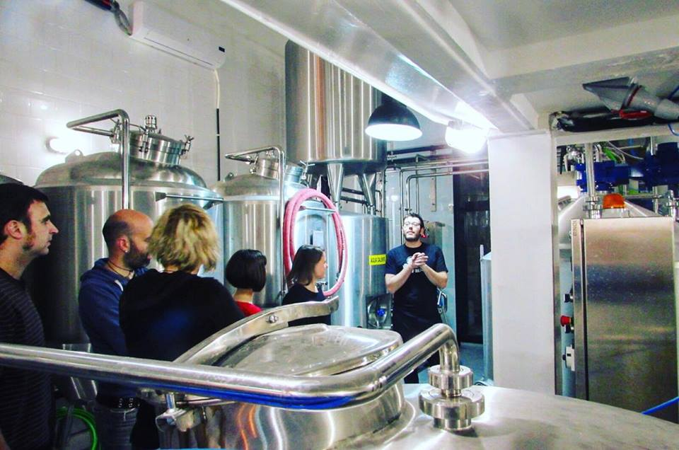 Brewer Andrea from Alex from Barna-Brew Brewpub Sant Antoni, Barcelona Brewpub