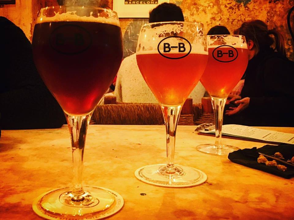 Craft Beers at Barna-Brew, Sant Antoni, Barcelona Brewpub