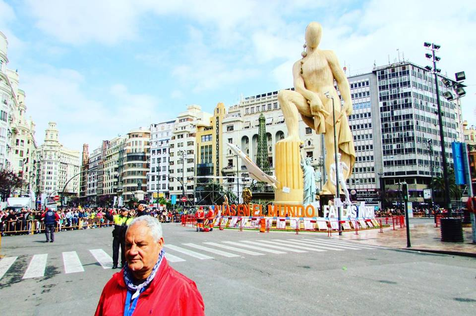 The boss of Valencia's Las Fallas festival
