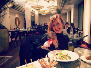 Dining at the Barcelonas restaurante at Gran Hotel La Florida Hotel in Barcelona