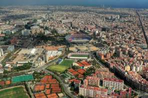 Camp Nou FCB Football Stadium Barcelona