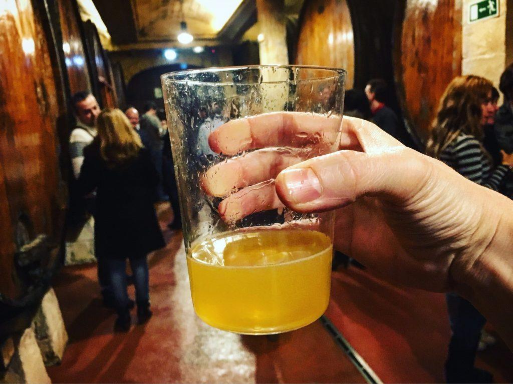 Cider at Petritegi sagardotegi