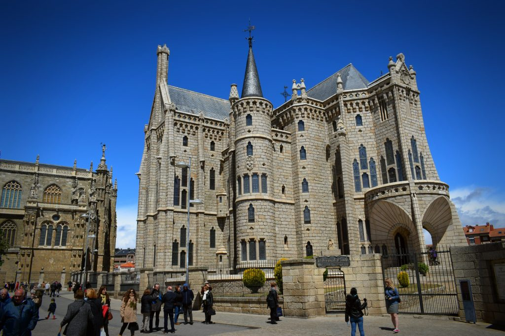Episcopal Palace Gaudi Building, Astorga, Northern Spain