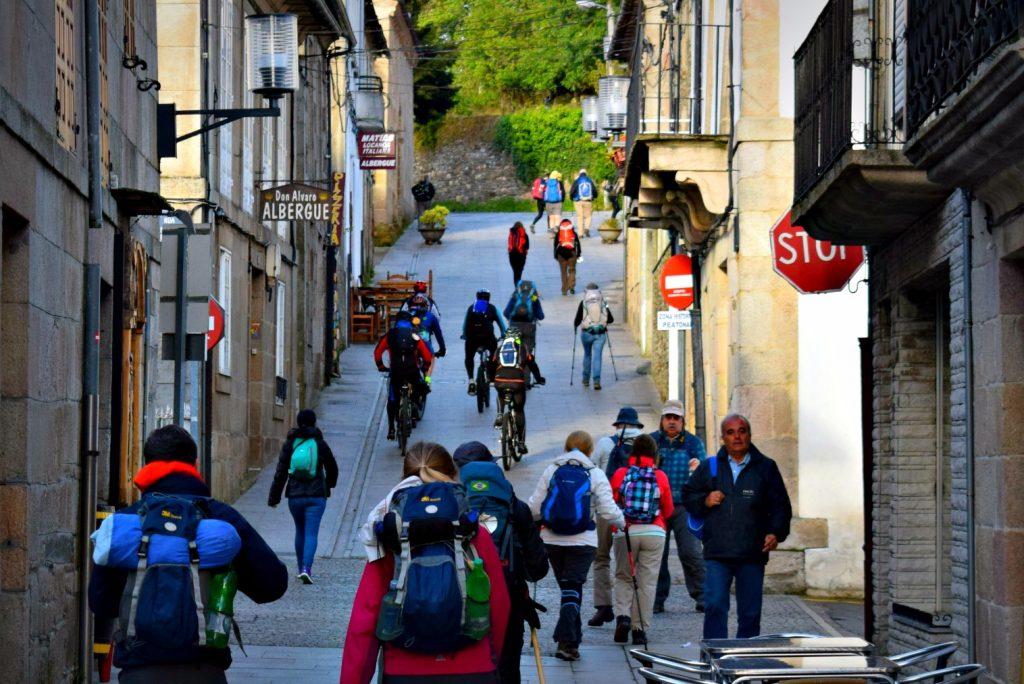 Hiking Sarria to Portomarín Camino de Santiago