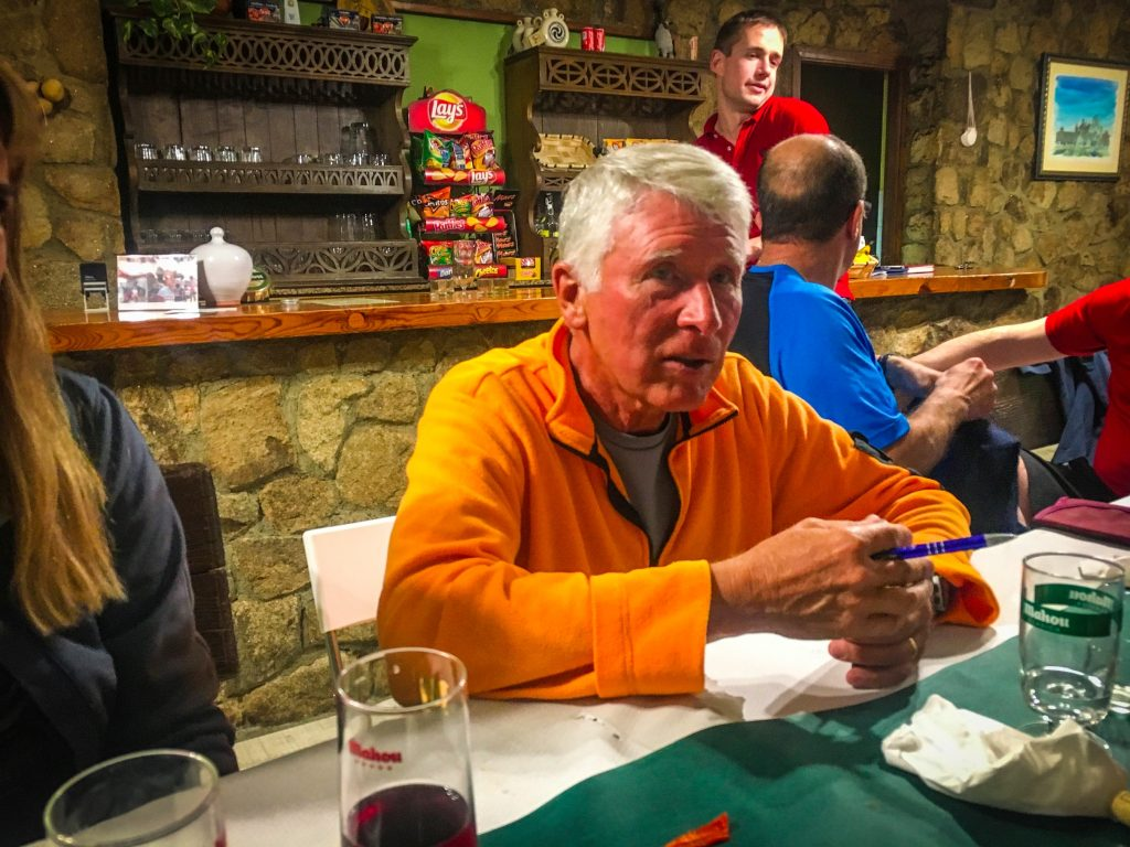 Making friends at albergues on the Camino de Santiago
