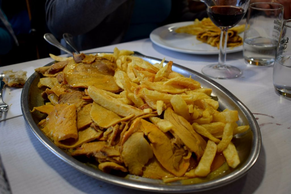 Lomo - Food and eating on the Camino de Santiago with traveltheway
