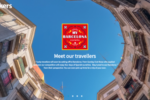 "Ebookers ""My Barcelona"" Travel Blogger Competition Campaign"