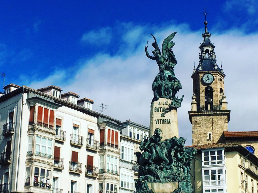 Vitoria-Gasteiz, Basque Country Old Town (the almond)