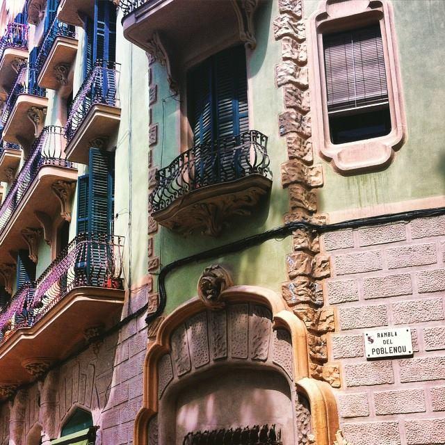 Rambla del Poblenou, Barcelona - by Ben Holbrook