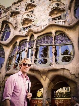 Travel writer Ben Holbrook's first day in Barcelona at Casa Batllo, Barcelona