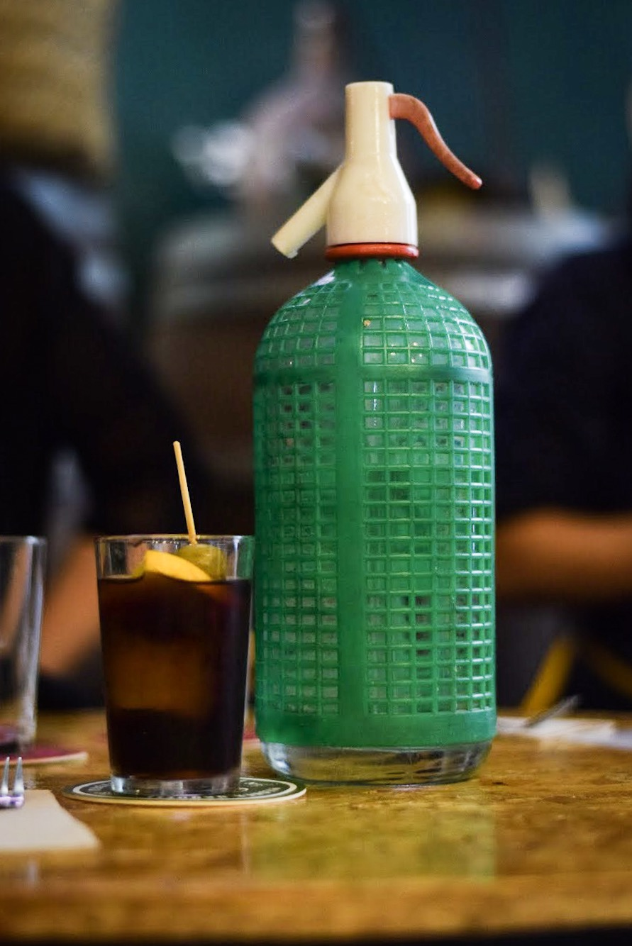 Spanish vermouth with a cool sifon bottle - Barcelona Food Experiences Food Tour