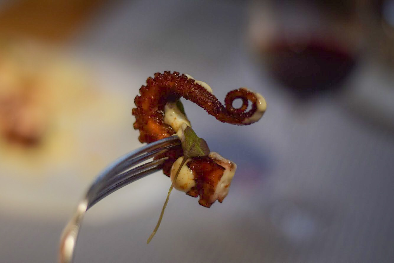 Crispy 'pulpo' octopus - Barcelona Food Experiences