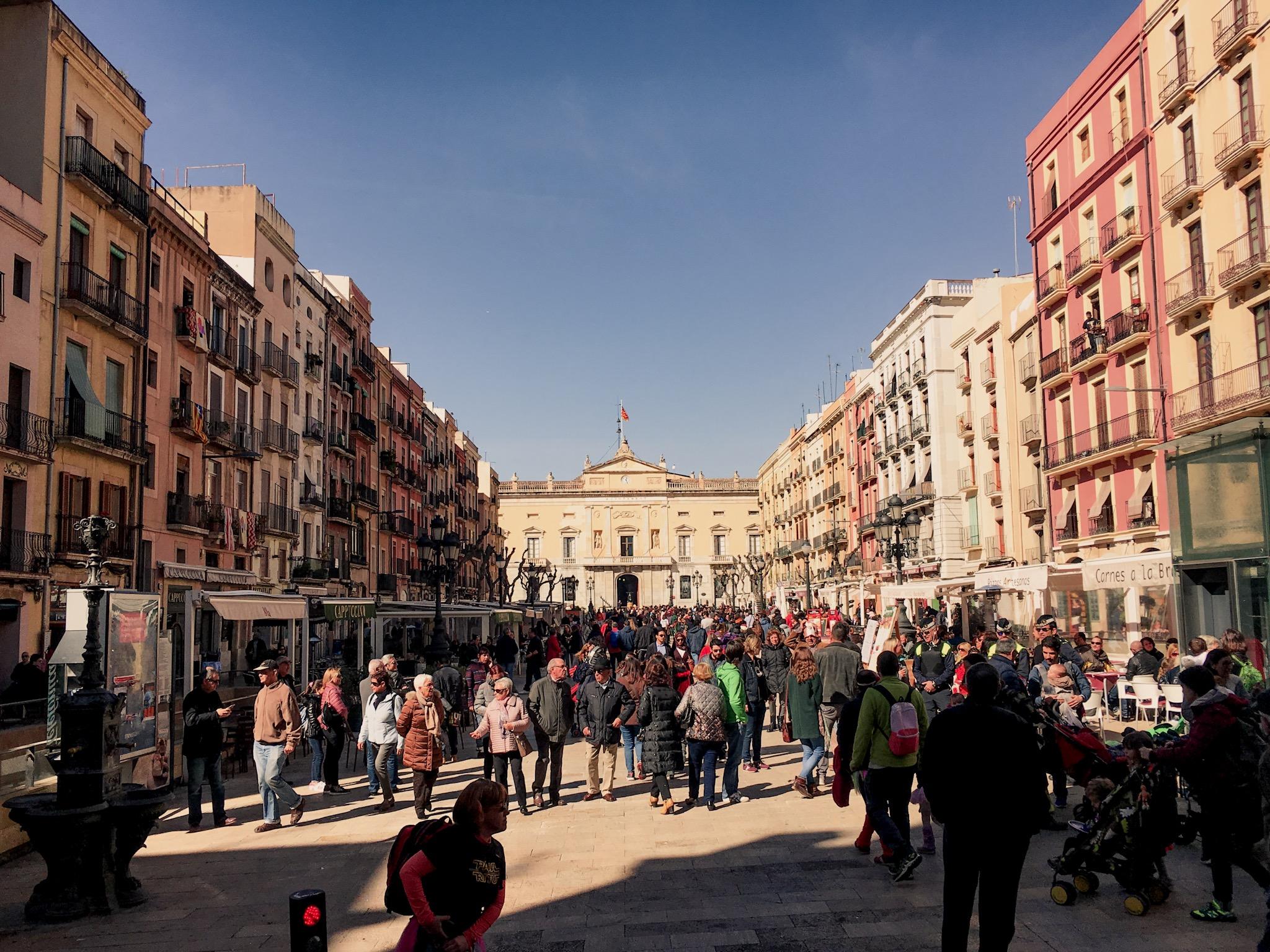 Plaça de la Font, Tarragona, Spain