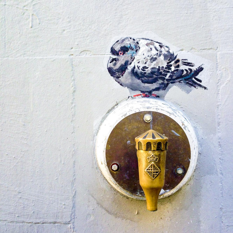 Street art in Born, Barcelona