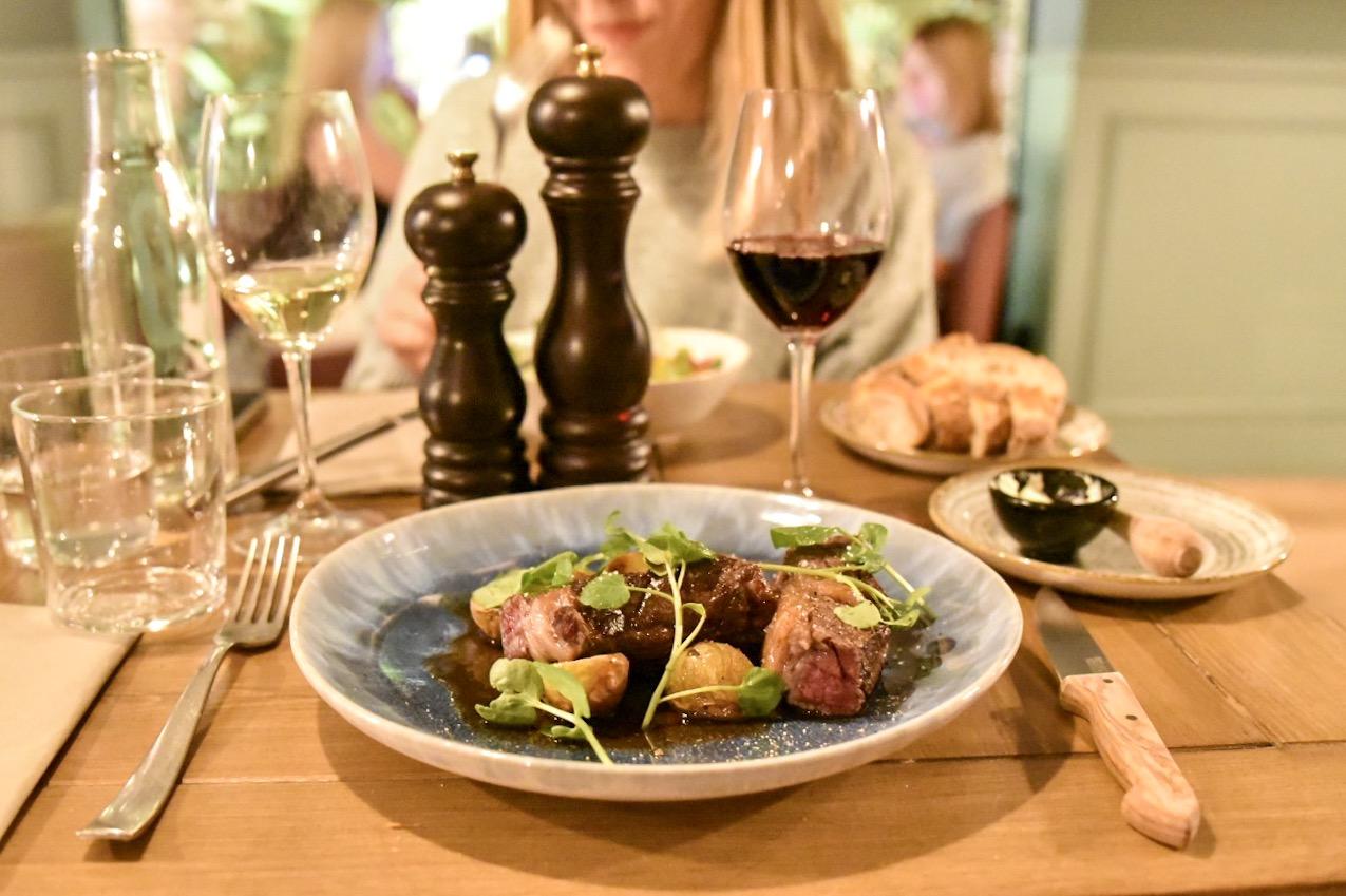 Ginette French Restaurant in Born, Barcelona