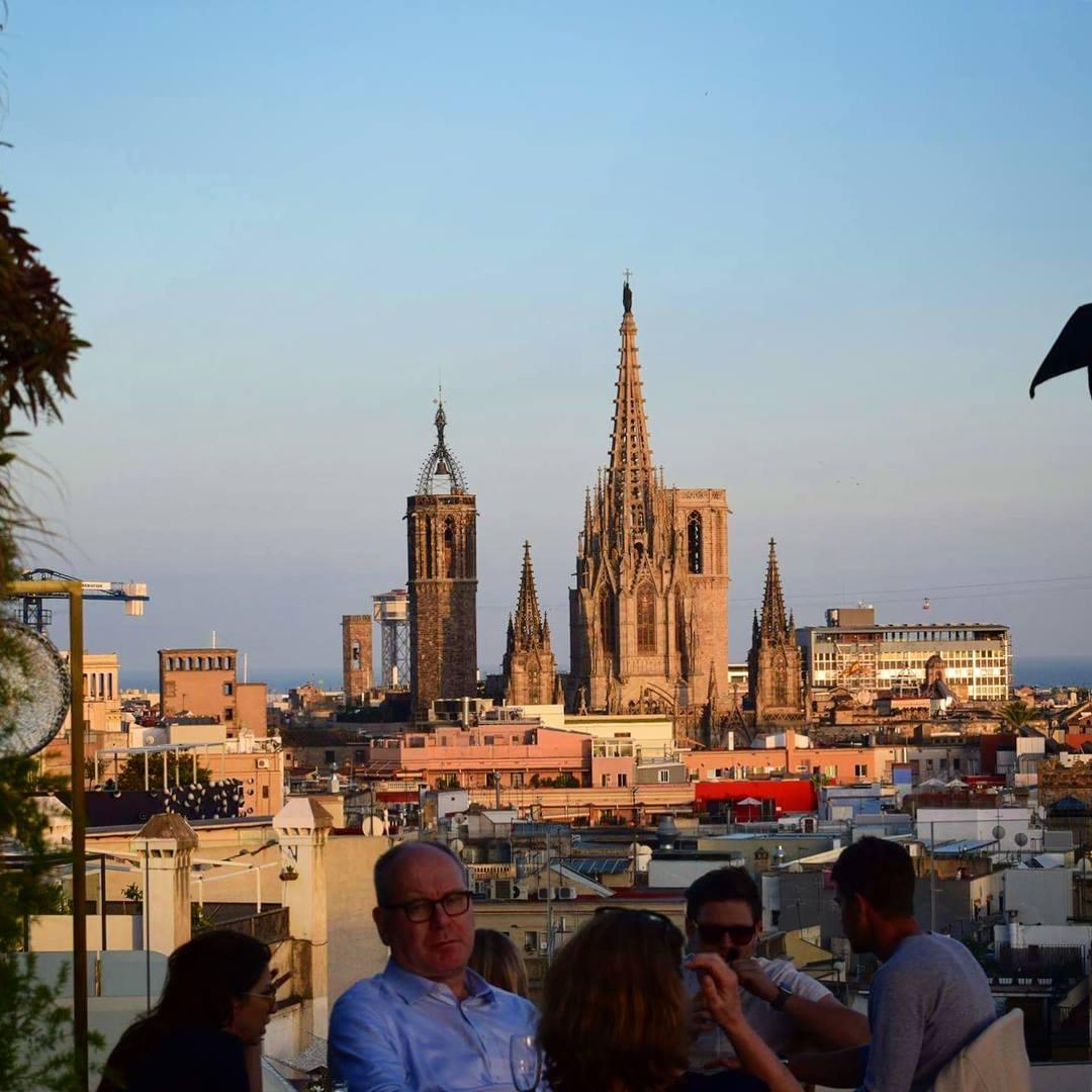 H10 Cubik rooftop bar - 4-star hotel Barcelona city centre
