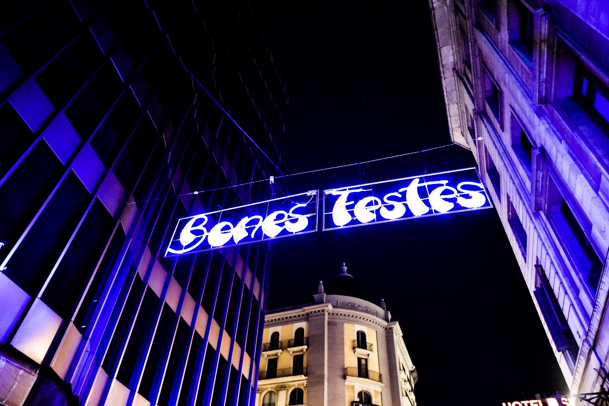 Christmas Shopping in Barcelona