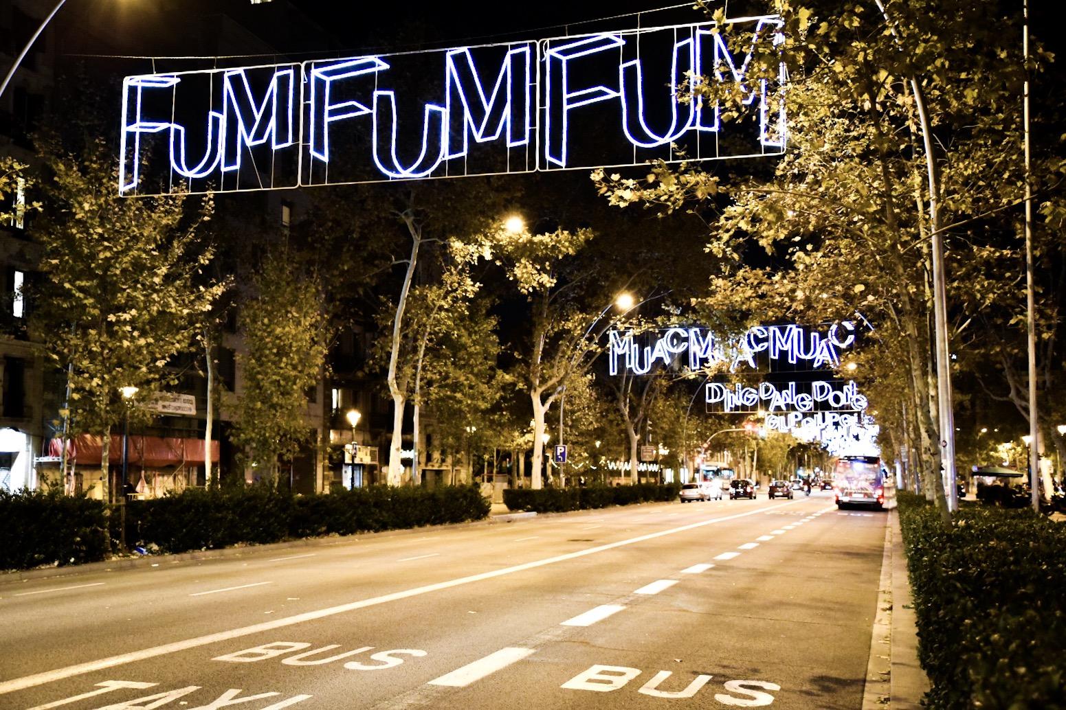 Fum Fum Fum Christmas Shopping in Barcelona