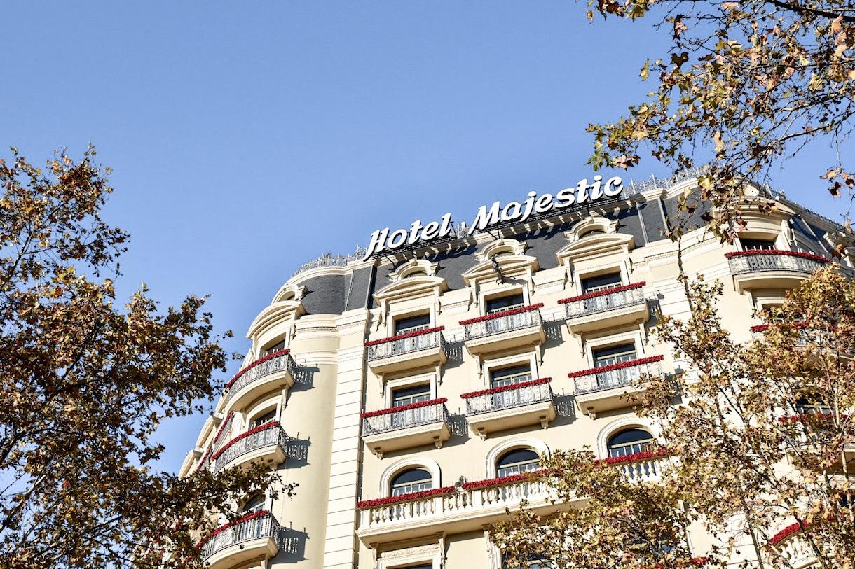 5* Majestic Hotel and Spa Passeig de Gracia Barcelona