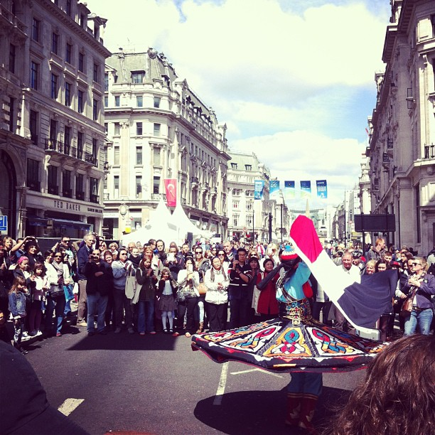 The World on Regent Street – A London Street Party