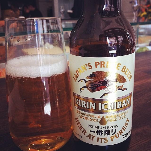 Kirin Ichiban Japanese Beer