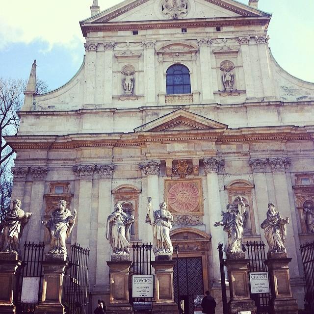 the 12 apostles - Krakow's smallest church - Poland