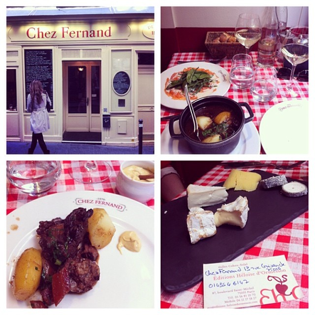 Chez Fernand Classic French Bistro, Paris
