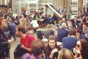 Truman Brewery Street Food Market, Shoreditch, London
