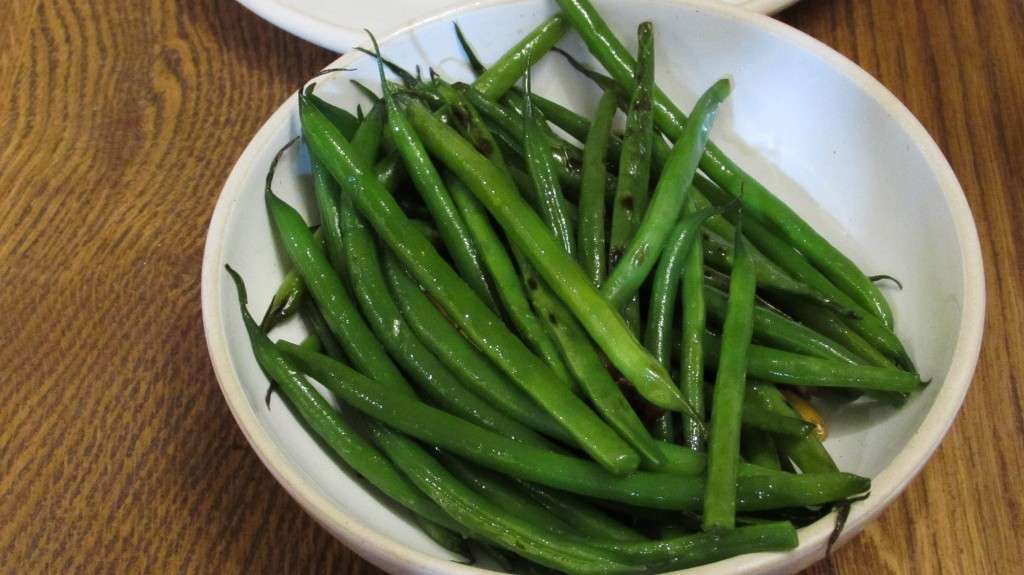 Sacha Inchi Green Beans, Andina Restaurant Shoreditch London