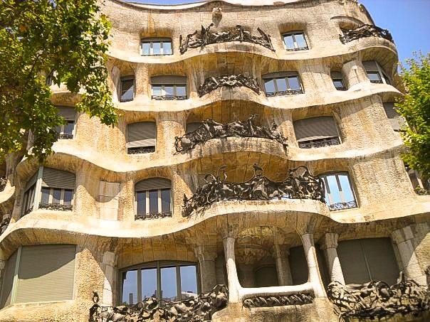 la padrera barcelona gaudi architecture tour driftwood journals