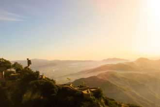 Views from Montserrat Monastery in Barcelona Catalunya
