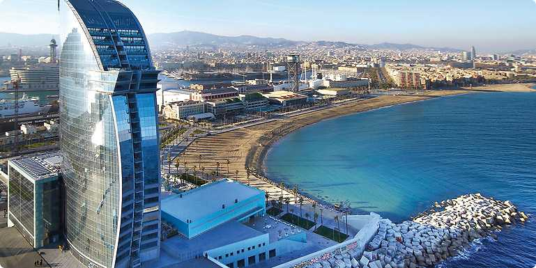 W Hotel 5 Star Barcelona S Most Iconic Luxury A Beach Paradise