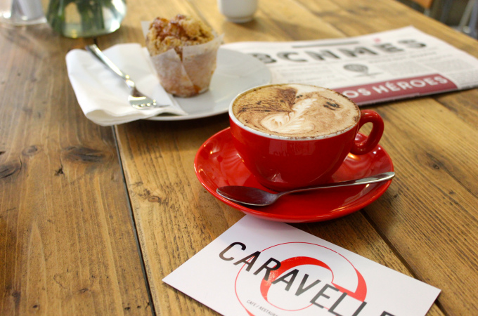 Caravelle coffe shop BCN - Foodie in Barcelona