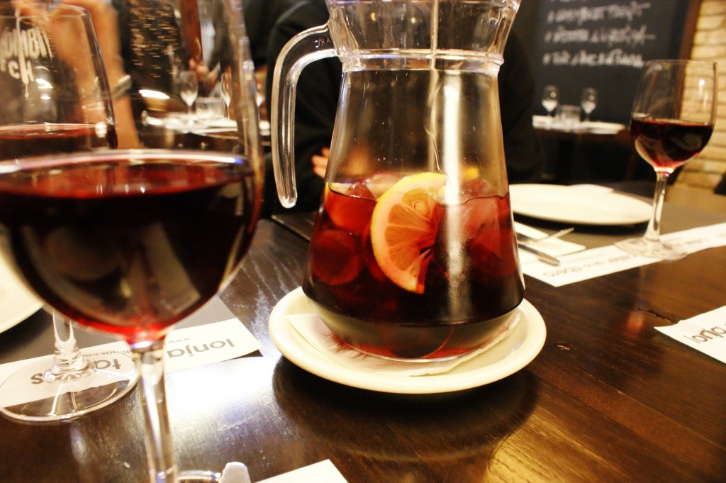 Where to drink sangria in Madrid
