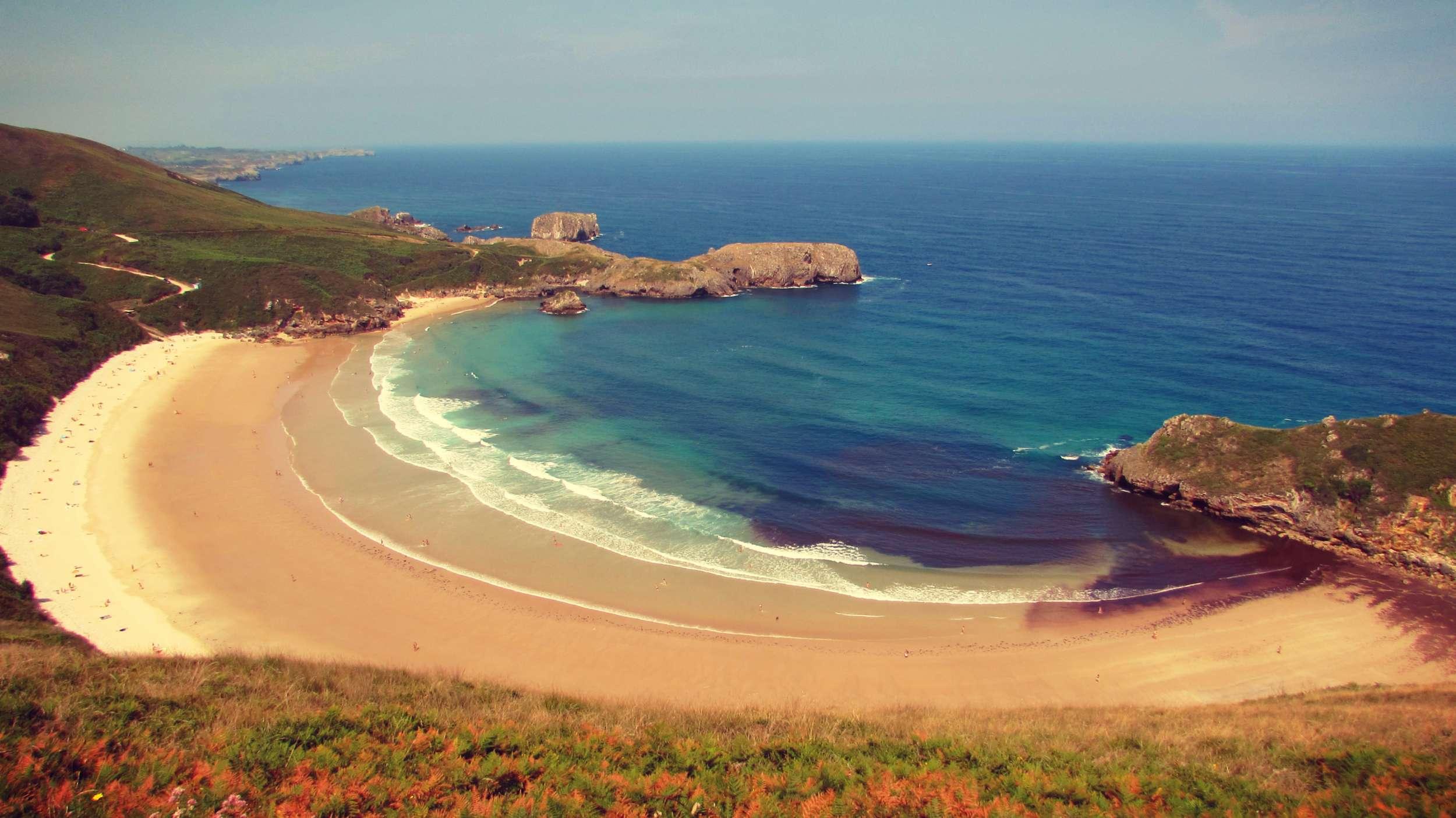 Llanes Beach, Asturias