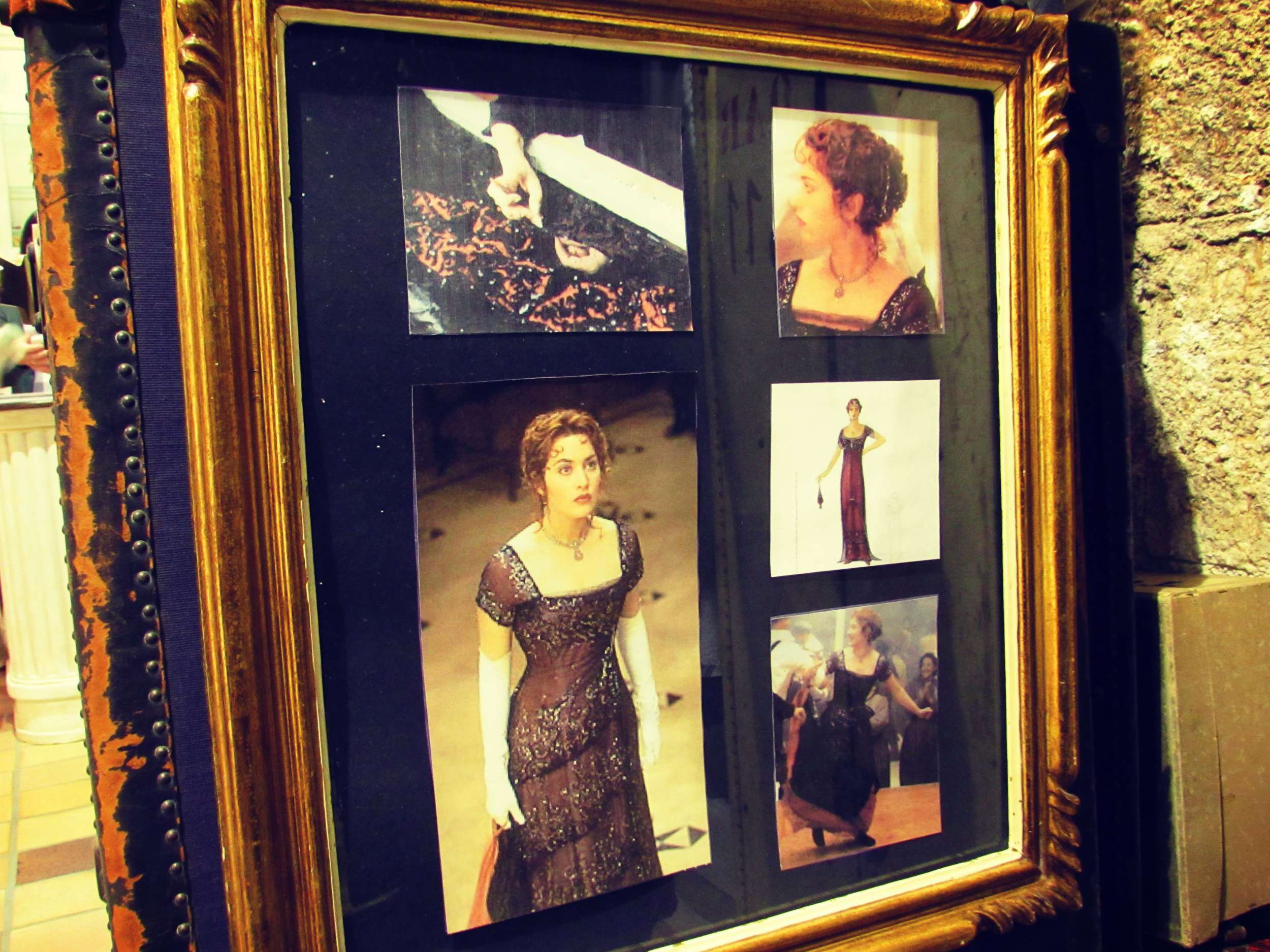 Kate Winslet Titanic Dress Makers Barcelona