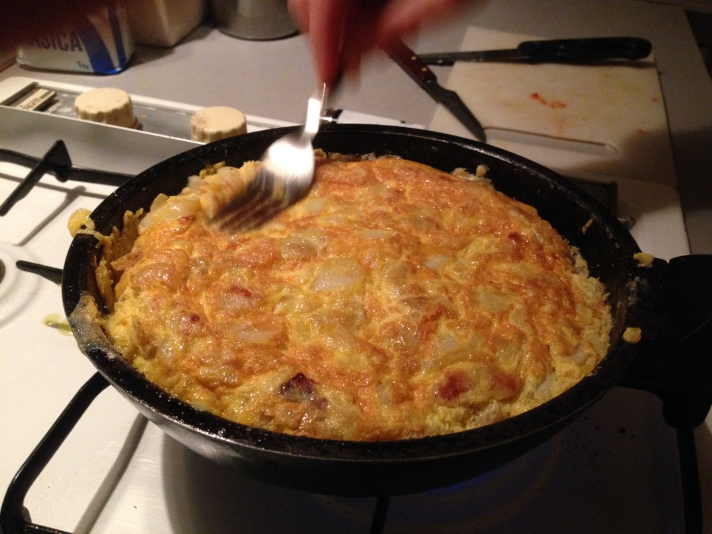 Homemade Tortilla espanola