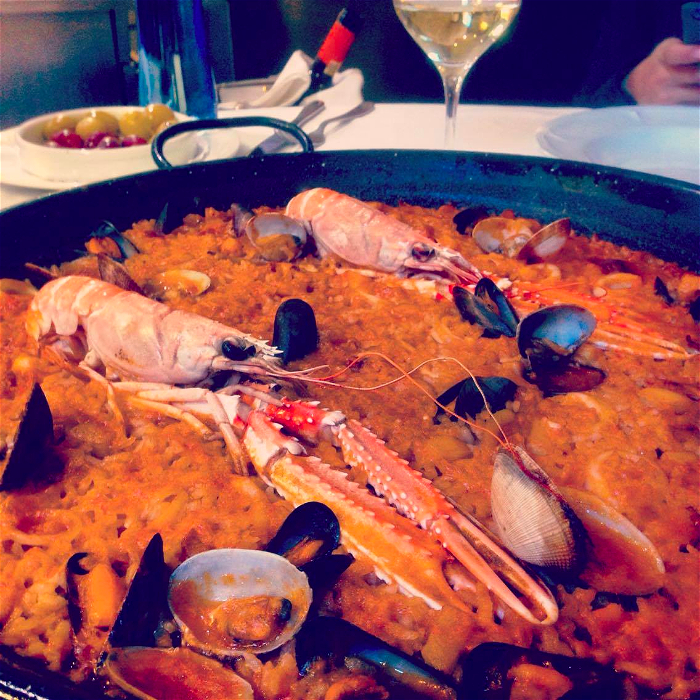 Best paella in Barcelona at Can Solé